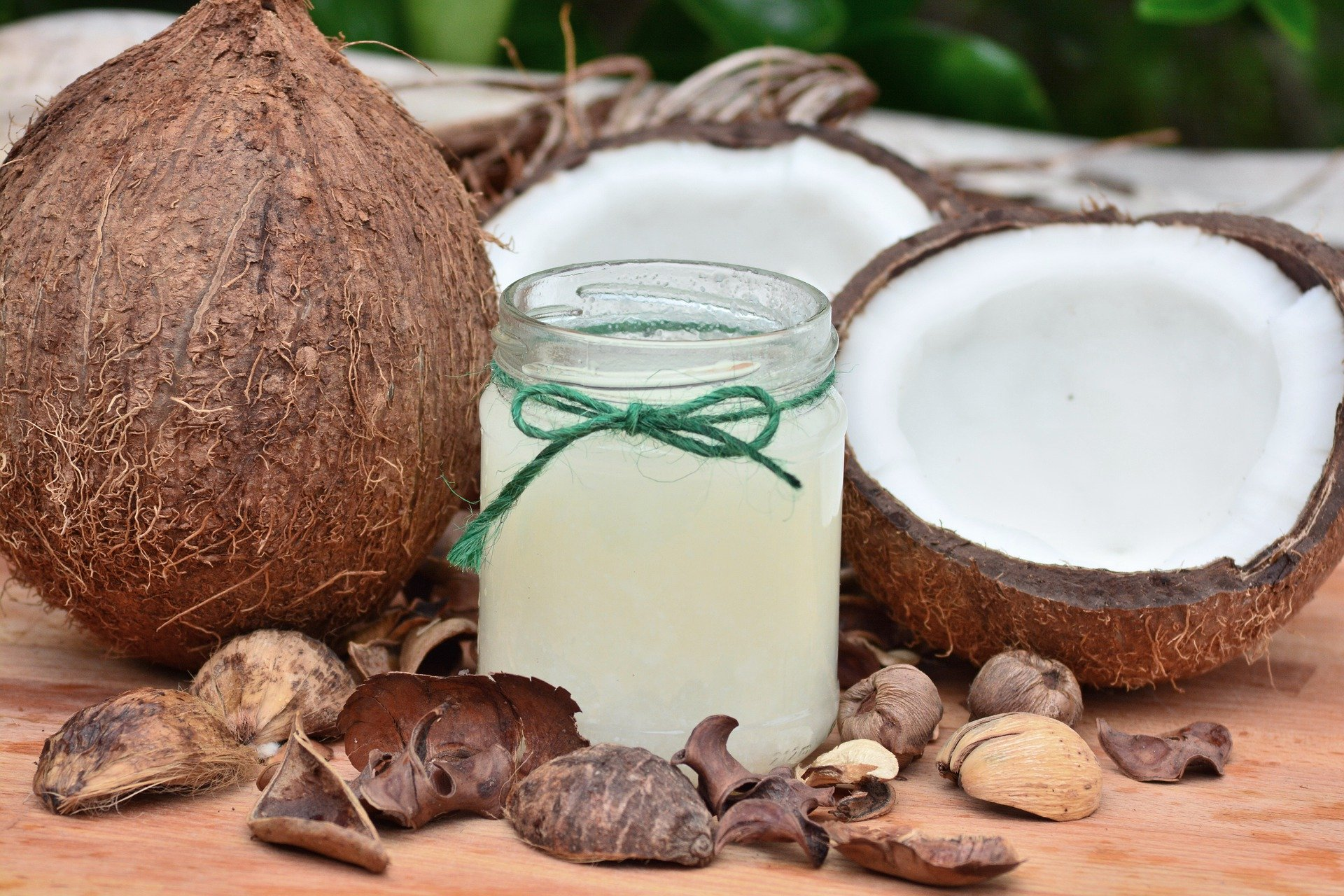 coconuts and coconut juice
