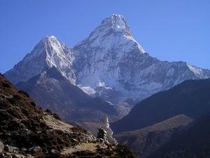 himalaya mount everest nepal