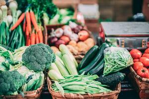 vegetables diet