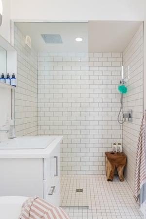 zero-entry safe shower design
