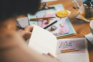 Journaling writing