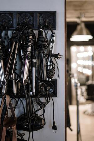 heated hair tools straightener curler