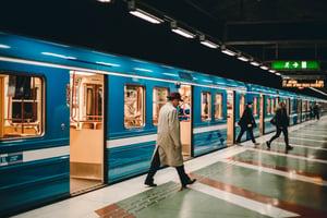Public transit subway