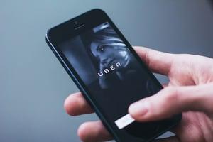 uber ride-sharing app