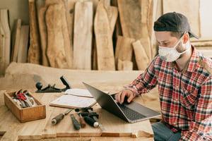 freelance handyman trade worker