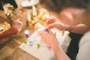 making jewelry crafting