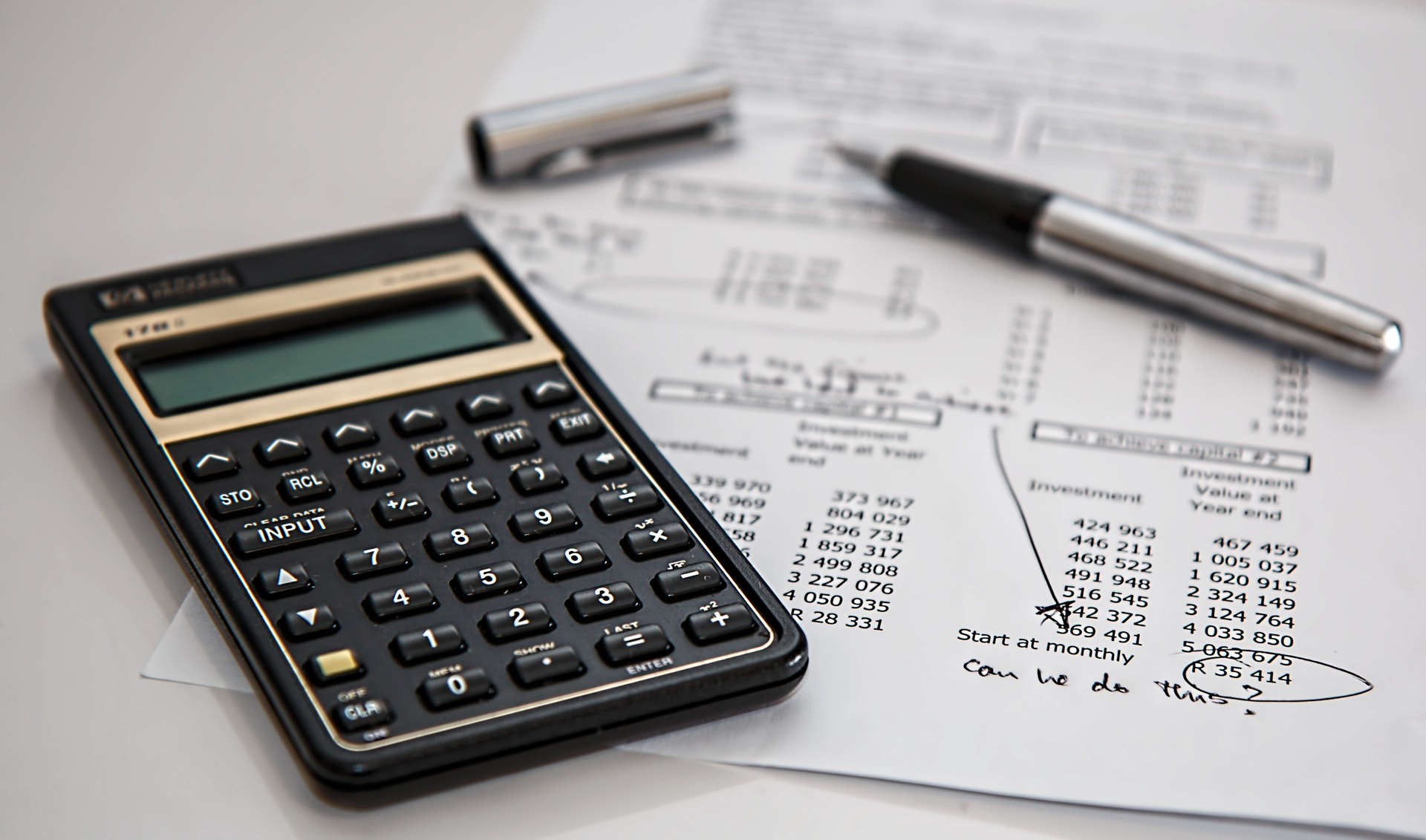 financial personal budget