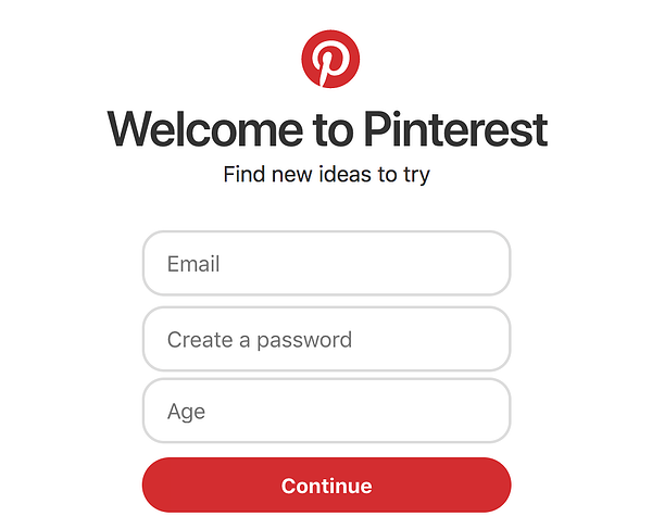 Pinterest - Welcome to pinterest