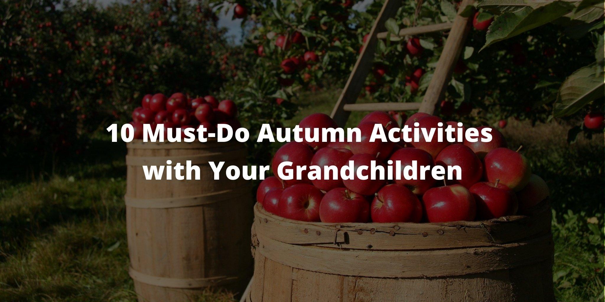 10 Must-Do Autumn Activities with Your Grandchildren