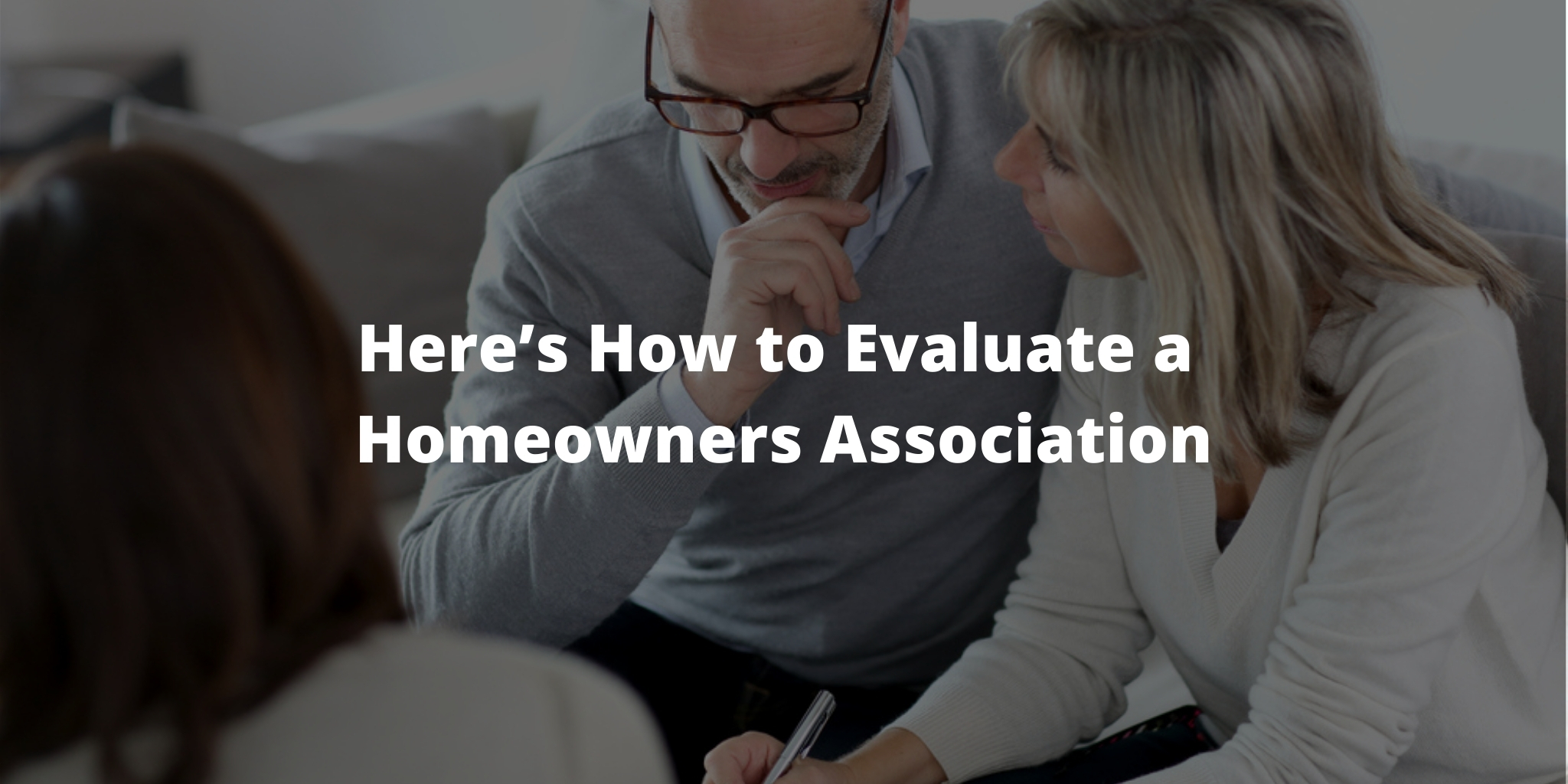 Downsizing? Here's How to Evaluate a Homeowners Association