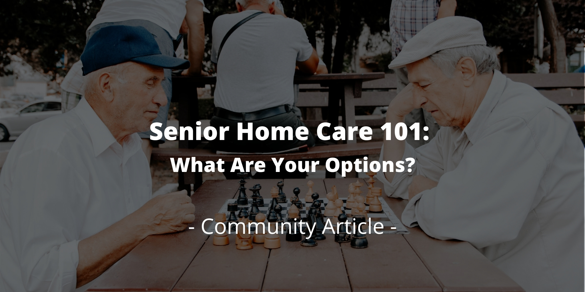 Senior Home Care 101: What Are Your Options?